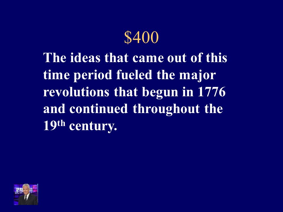 $300 What is the steam engine, railroads, mass production, and division of labor