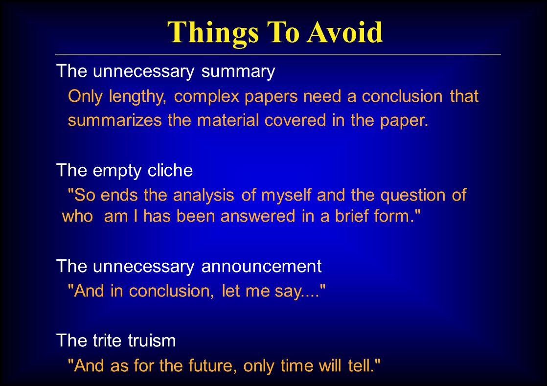 essay long should conclusion