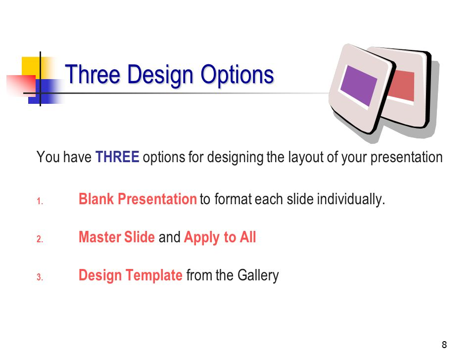 1 getting started the following slides outline the steps to, Presentation templates