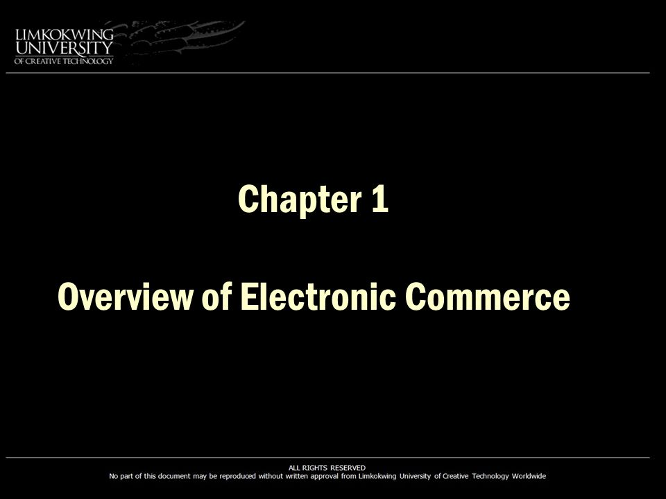 Benefits of EC Ubiquity More Products and Services Customized Products and Services Cheaper Products and Services Instant Delivery Information Availability Participation in Auctions Electronic Communities No Sales Tax Benefits to Consumers Faculty of Information Communication and Technology BTECH3101/BIT2512/BIT2514/BIT2513/BTECH2309 | E-Commerce