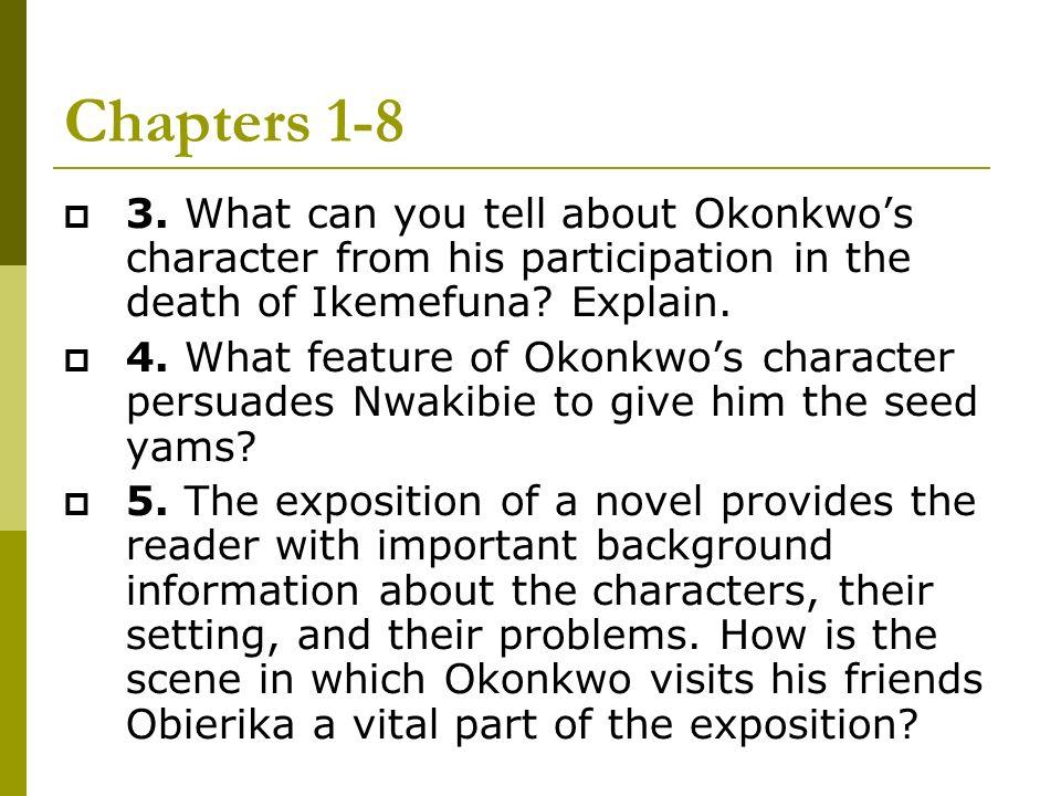 character analysis of okonkwo in things fall apart by chinua achebe Things fall apart by chinua achebe: character symbolism fear in things fall apart by chinua achebe things fall apart essay: okonkwo the tragic hero.