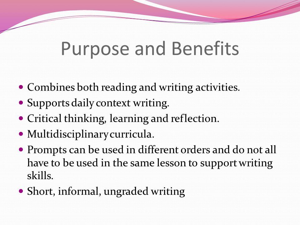 Critical thinking benefits