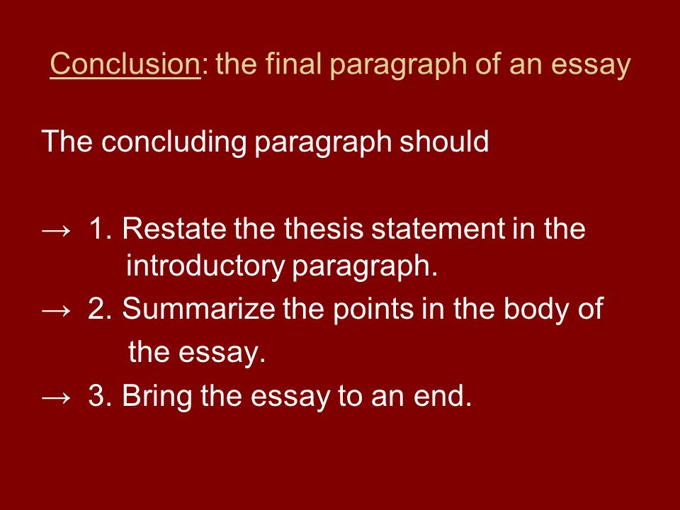 write a good introduction for an essay