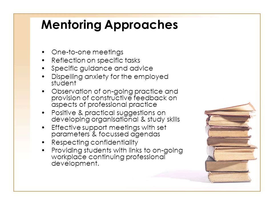 reflection on mentoring a student Monthly reflection questions to get heart and head working students are expected to attend and fully participate in all mentoring community meetings student.