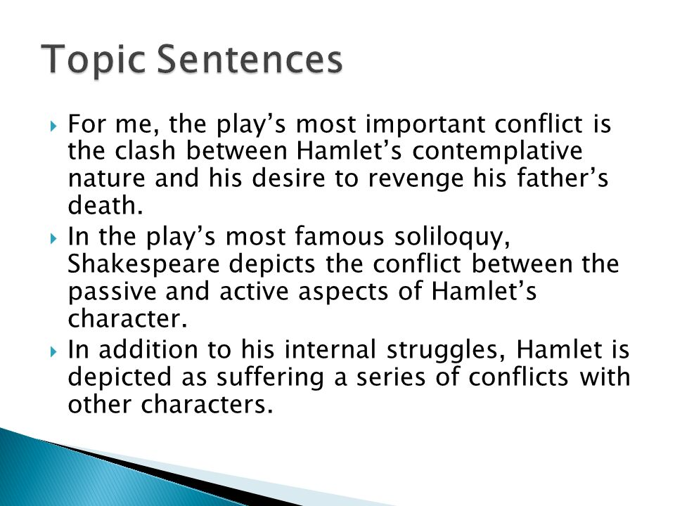 an analysis of hamlet as a revenge play
