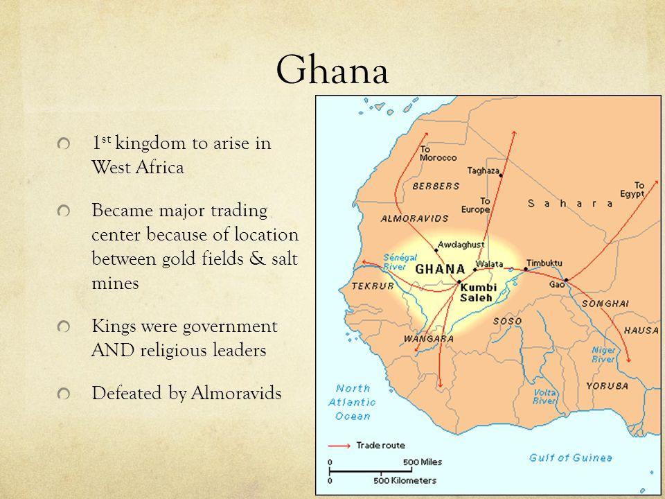 Ghana Mali Songhai Recap Niger River Sahara Desert Niger - Sahara desert location