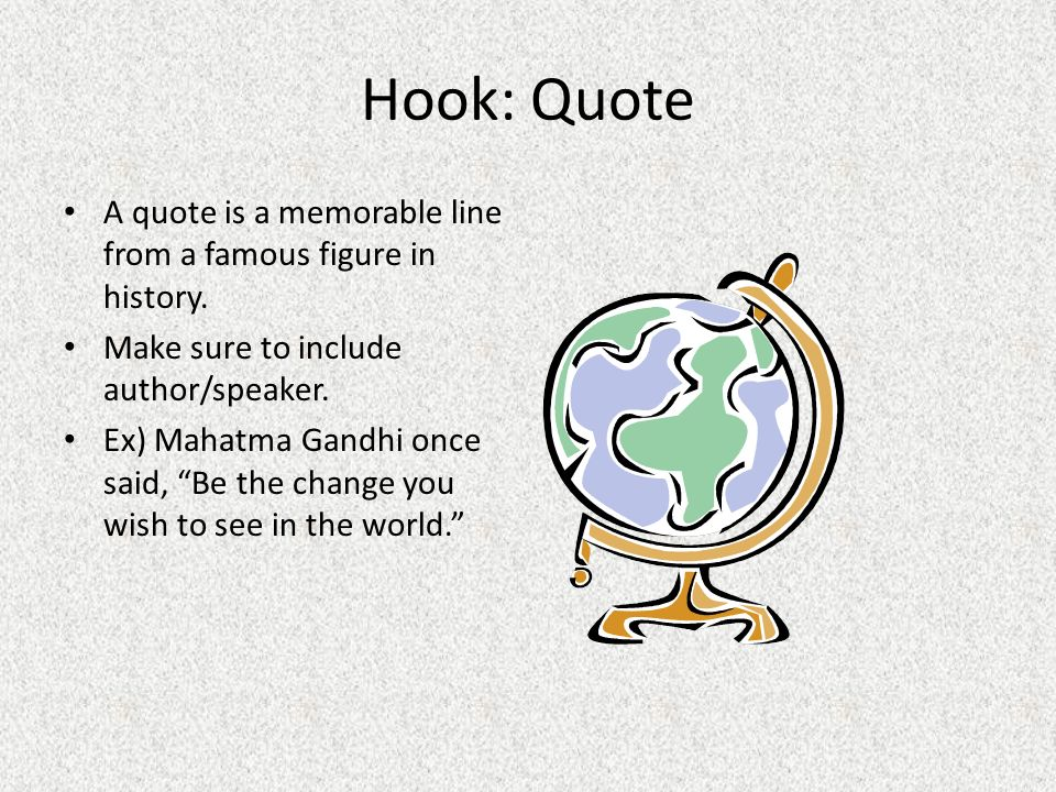 how to write a good hook for an essay Fast essay service for you writing an essay hook, many students face difficulties some of them are not sure about the chosen style, or suddenly understand that their writing skills are not good enough.