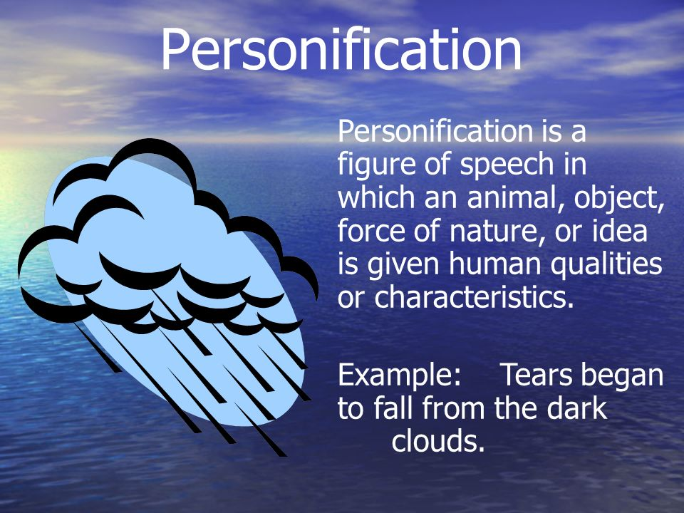 Personification Examples Figures Of Speech Choice Image Example