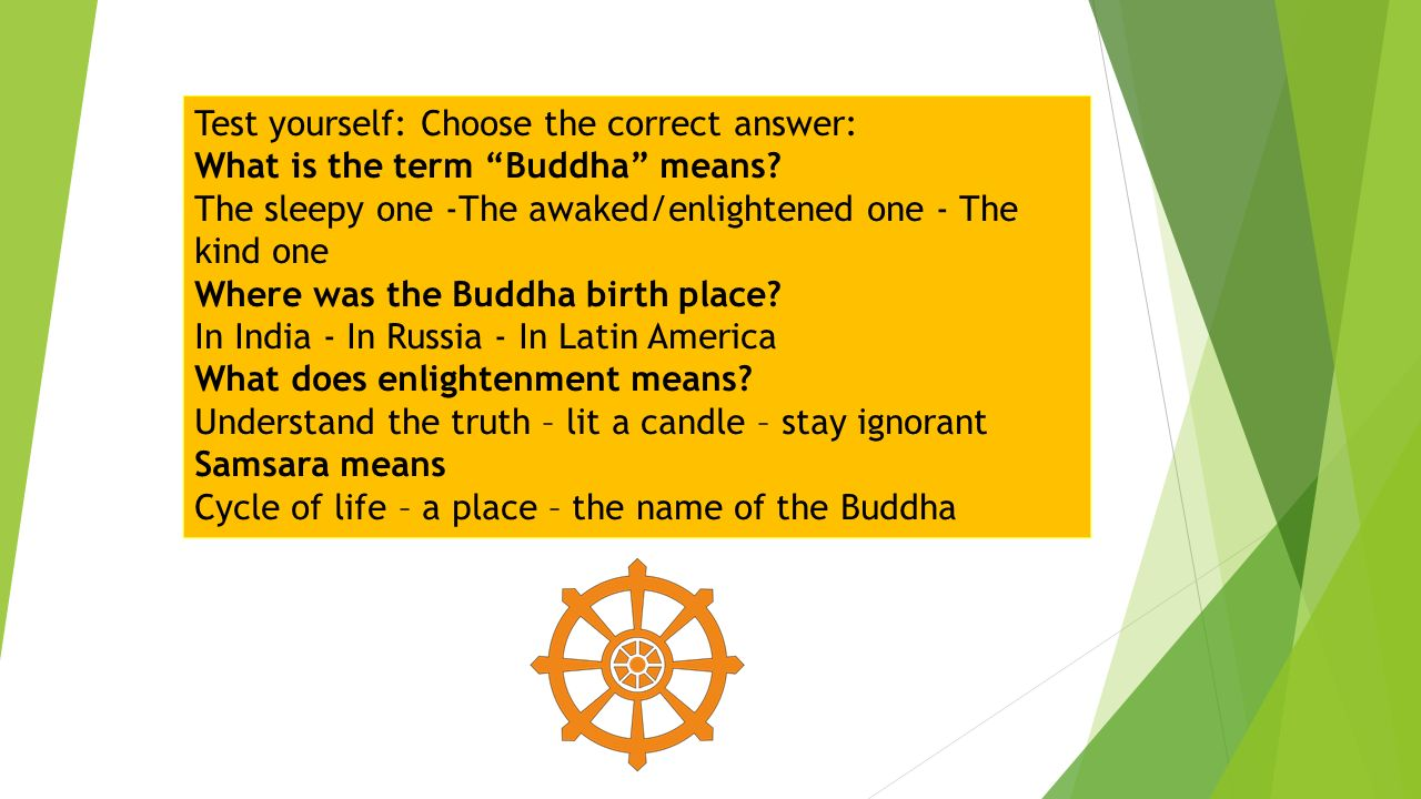 Test yourself choose the correct answer what is the term buddha test yourself choose the correct answer what is the term buddha means biocorpaavc