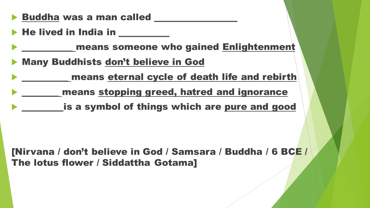 Test yourself choose the correct answer what is the term buddha 3 buddha biocorpaavc Images