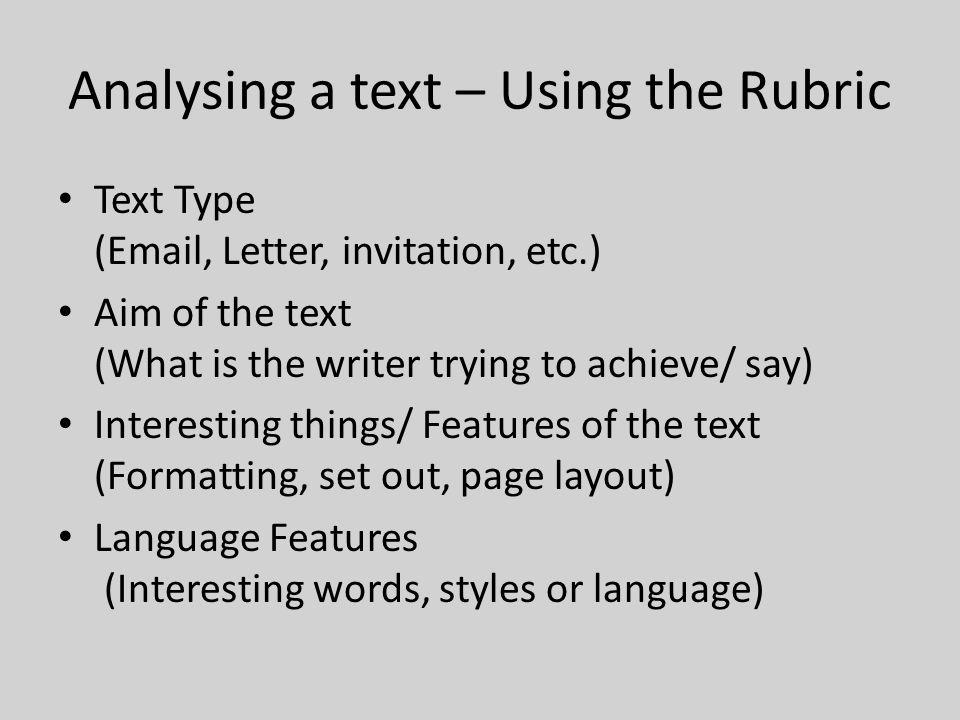 Transaction al texts vcal literacy unit 1 reading writing week 1 6 analysing stopboris Image collections