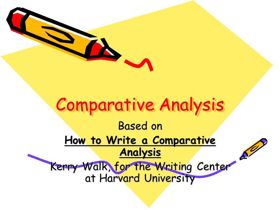 a comprative analysis