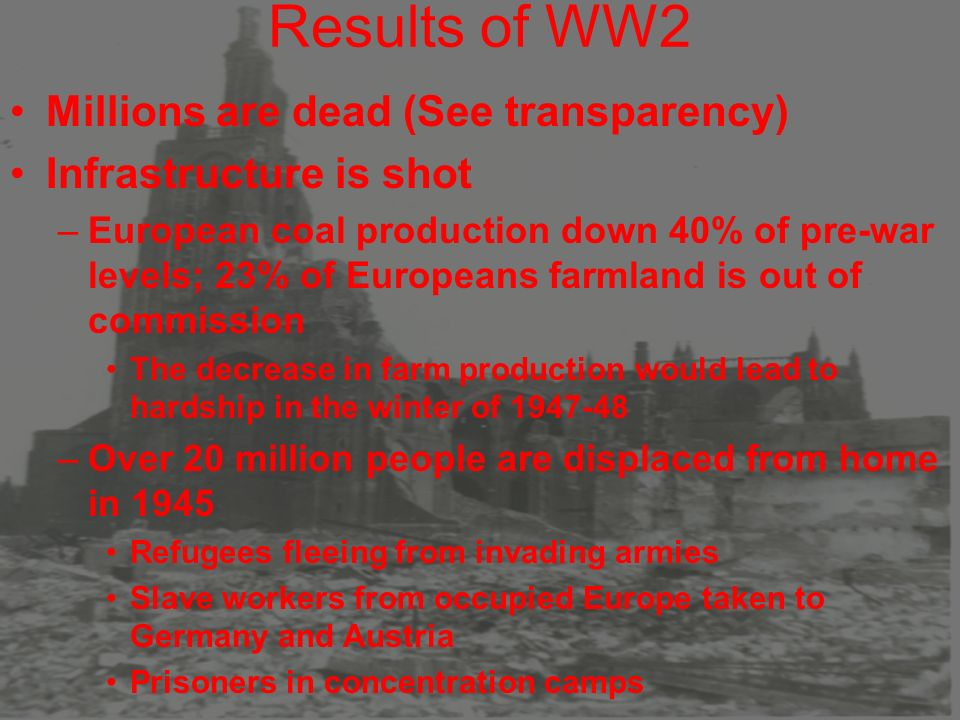 Aftermath of WW2 Yalta, 2/1945 –Held at Crimea on the Black Sea ...