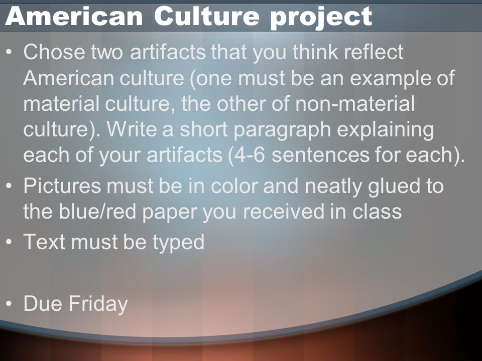 cultural anthropology thesis statement Cultural anthropology the society for applied anthropology's statement on student who is completing a project or thesis related to.