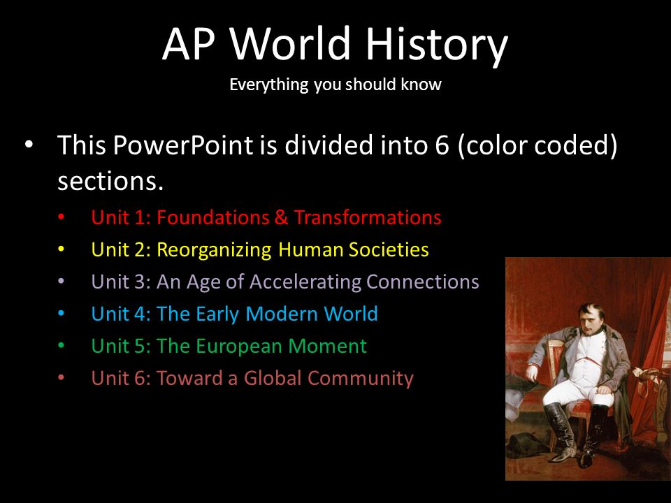 AP World History The Super PowerPoint. AP World History Everything ...