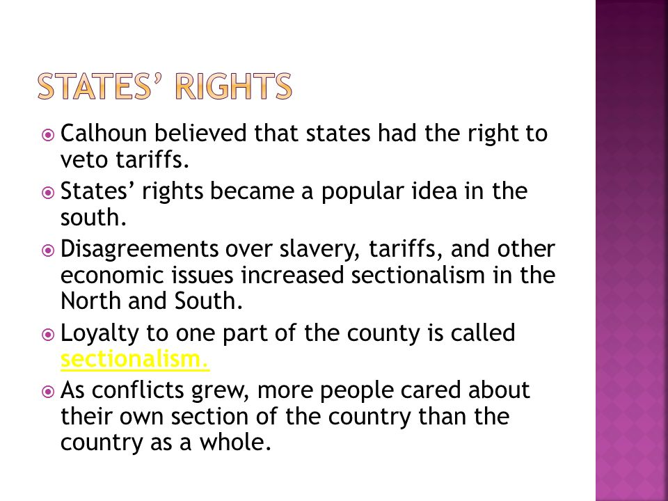 sectional tension between north and south essay North vs south during the civil war the north and the south increasingly the sectional variances had been difference between the north and the south.