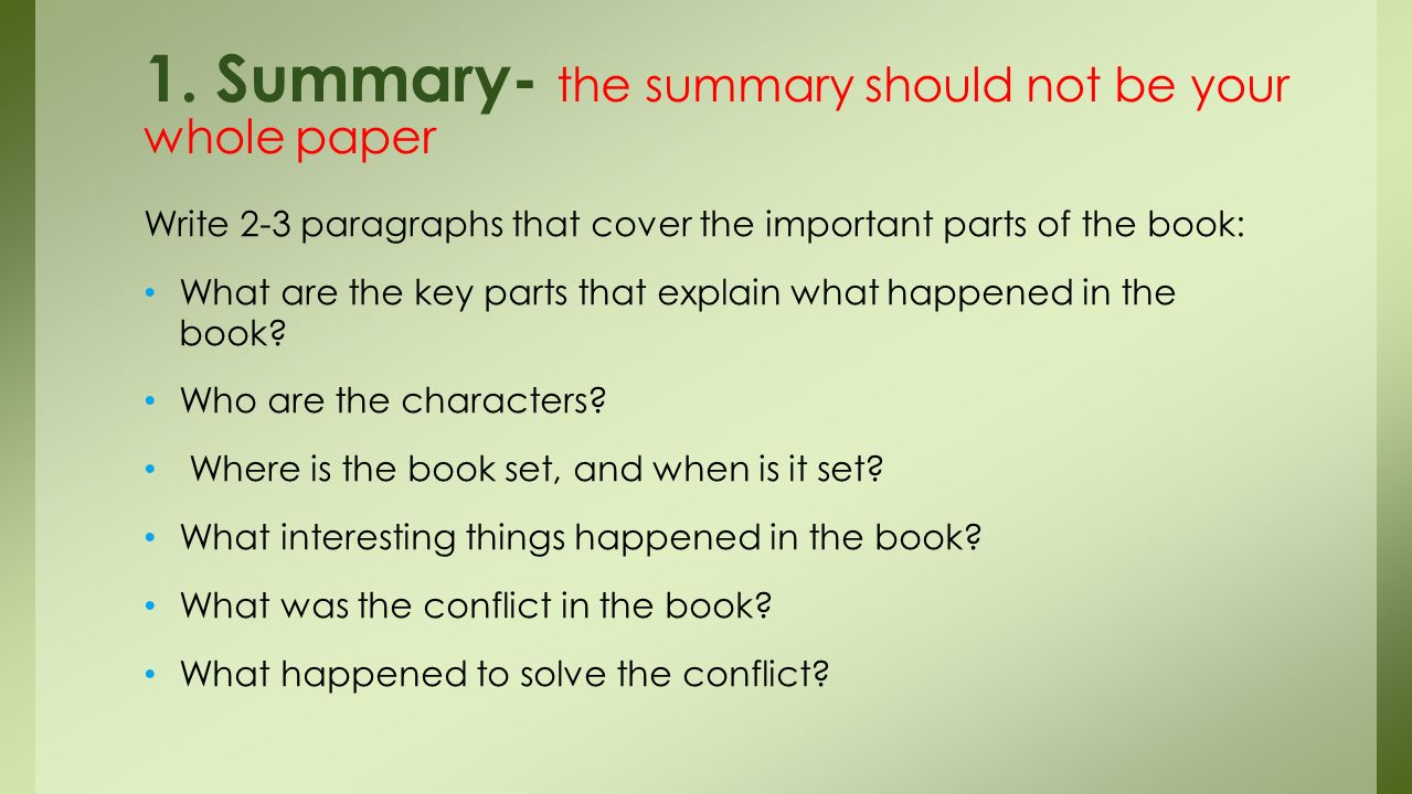 Parts Of A Book Worksheet Book Report  What Should We Be Worried About