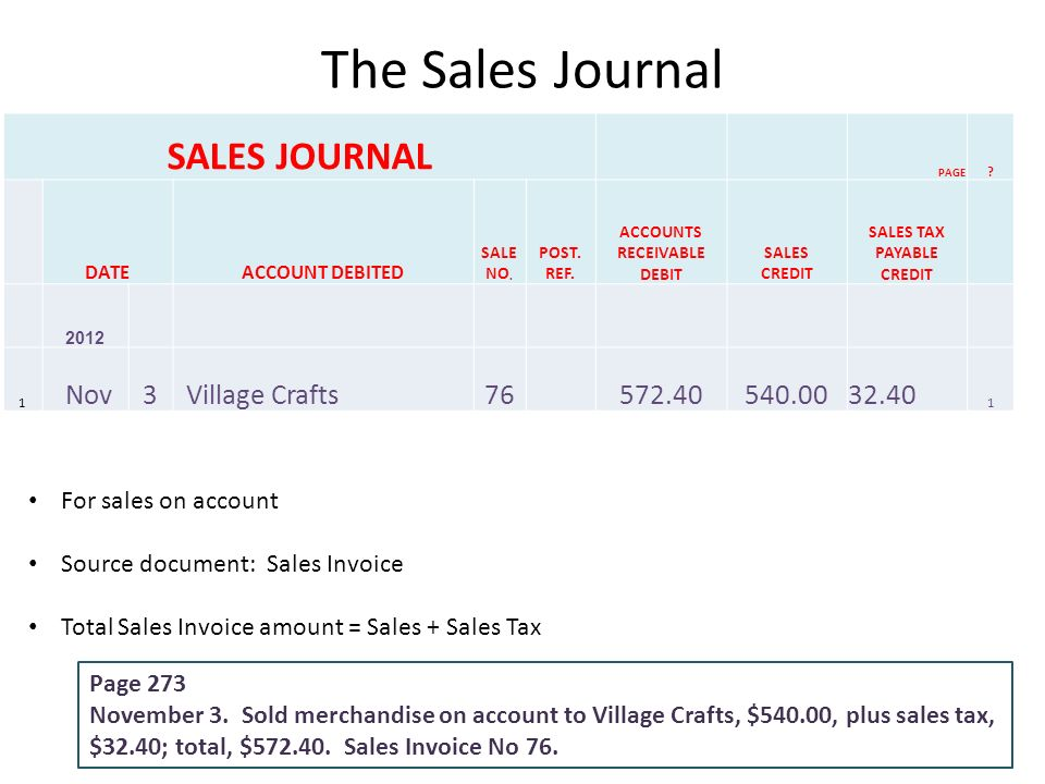 Shipping Receipt Template Pdf Chapter  Journalizing Sales And Cash Receipts Using Special  Invoice Central Pdf with What Can You Claim On Taxes Without Receipt Excel The Sales Journal Sales Journal Page  Dateaccount Debited Sale No When To Invoice A Client Excel