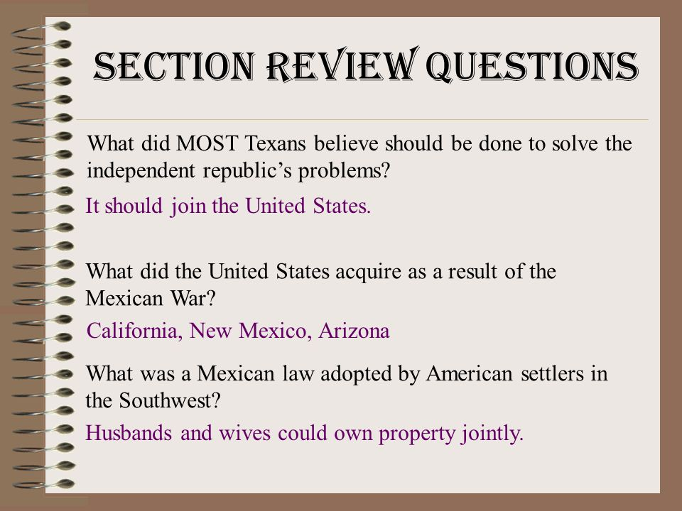 The Mexican War Why Do You Think America Got Involved In A War - When did california become part of the united states