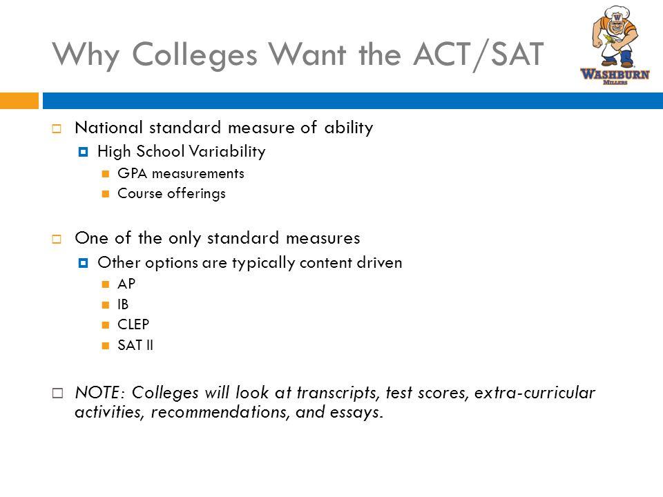 American High school test..SAT,ACT..etc?