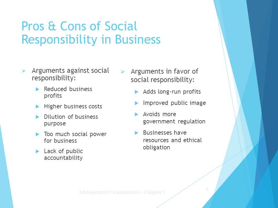 corporate responsibility essays