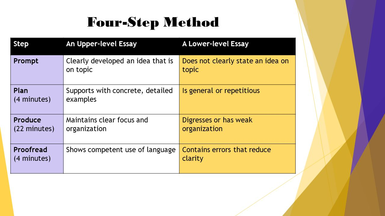 how to write a winning argumentative essay in minutes palmetto  4 four step