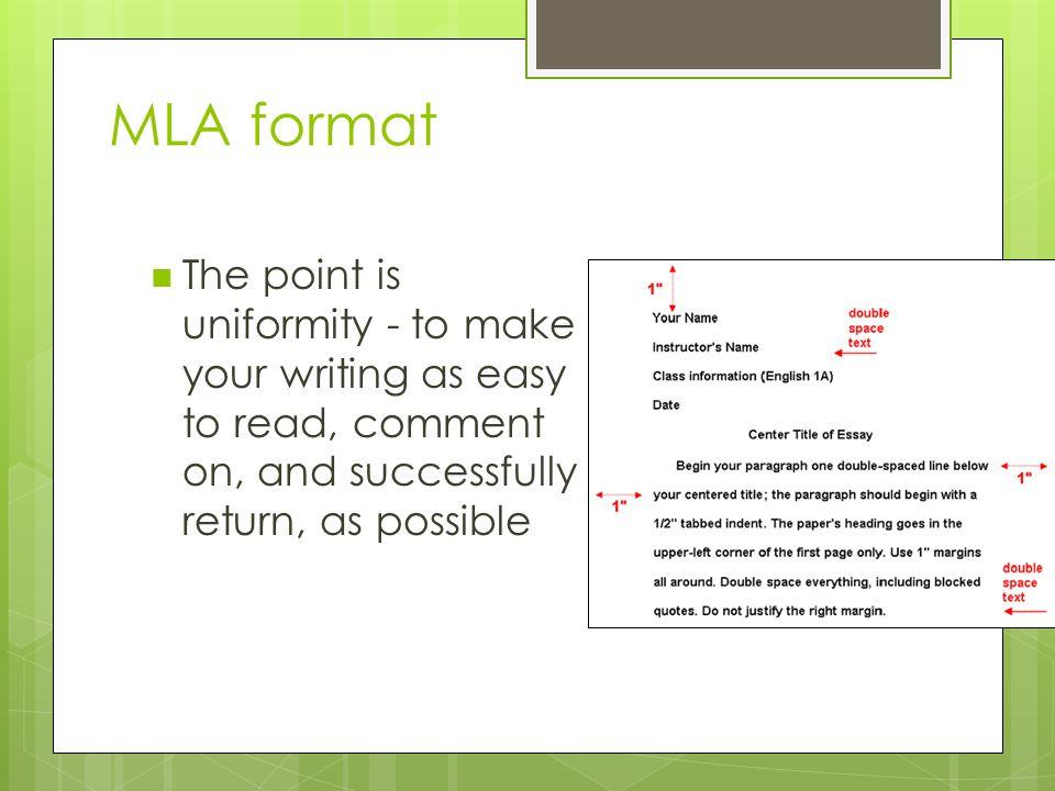 easy essay format