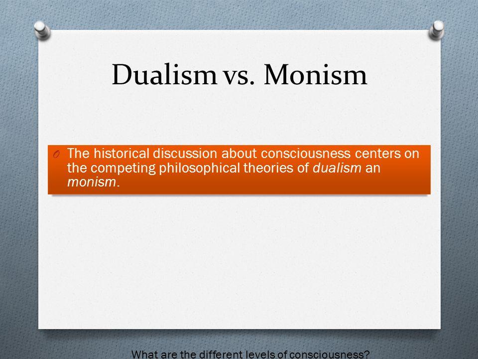 Dualism vs monism essay writer
