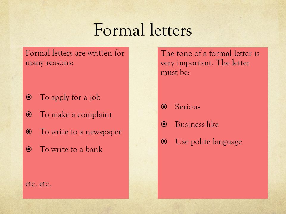 Functional writing section three junior certificate ppt download 21 formal altavistaventures Gallery