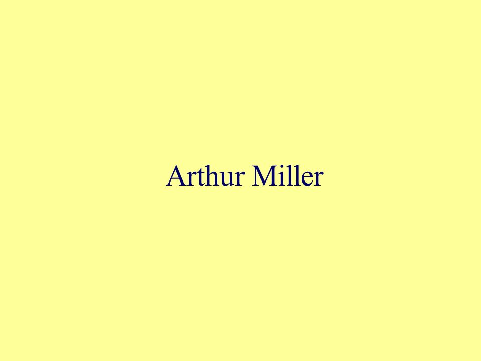 arthur miller essay tragedy and the common man