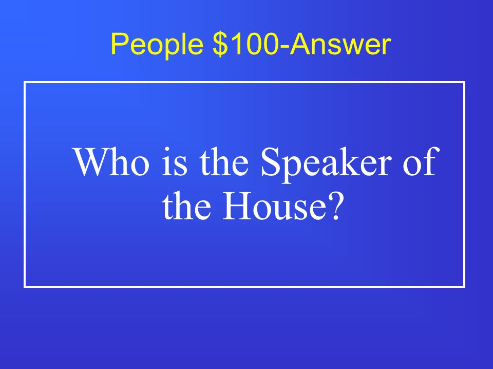 People $500 Presides over the Senate when the Vice President is not present.