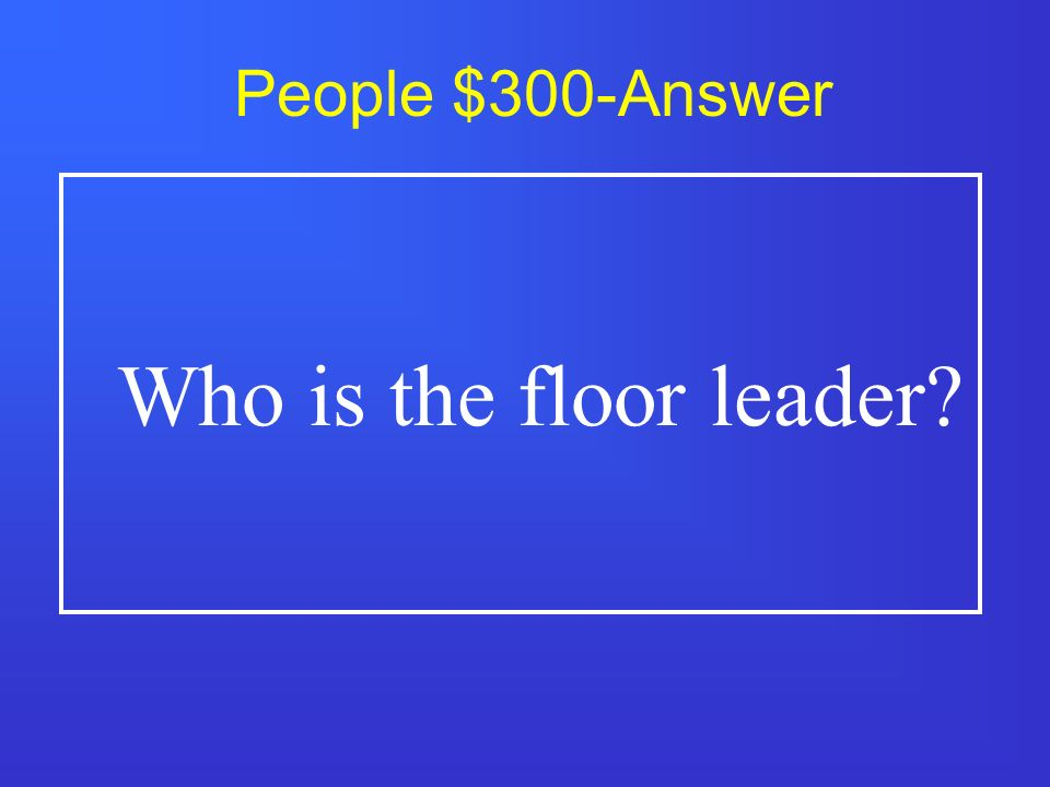People $200-Answer Who is president of the Senate