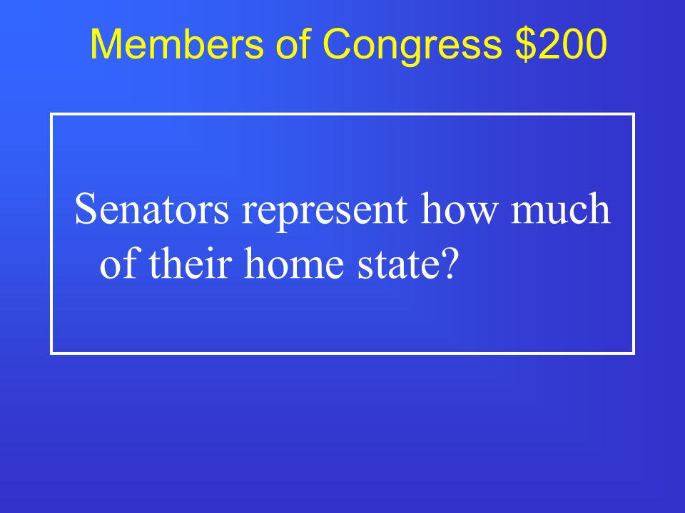 Members of Congress $100 Representatives in the house must be how old