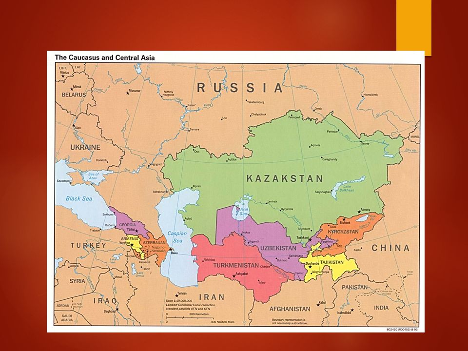 OCTOBER PHYSICAL GEOGRAPHY OF RUSSIA AND CENTRAL ASIA - Where is russia located