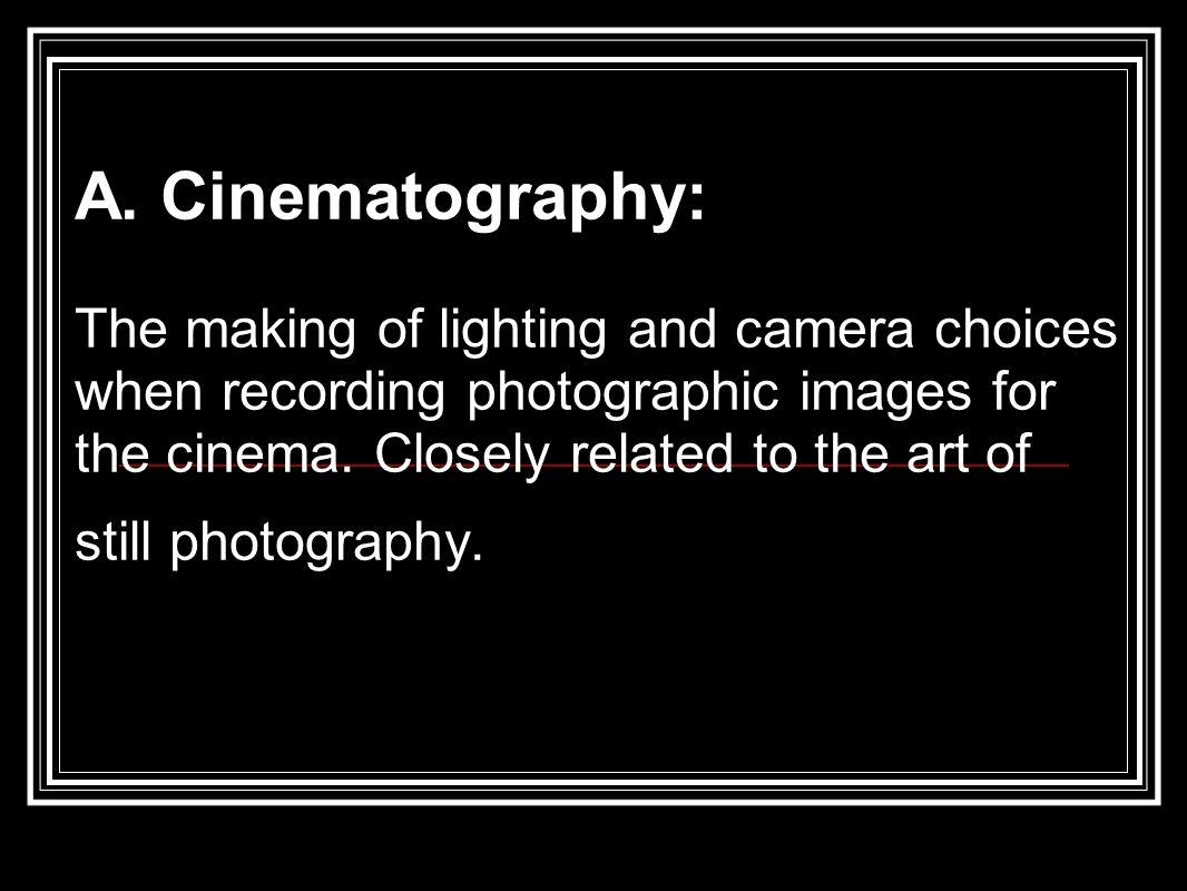 II. Mise en Scene / Intro to Cinematography Me-zaun-sen. - ppt download