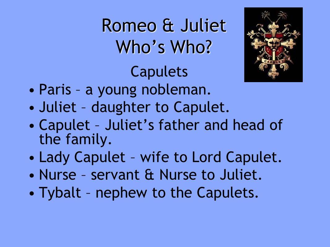 romeo juliet capulet essay