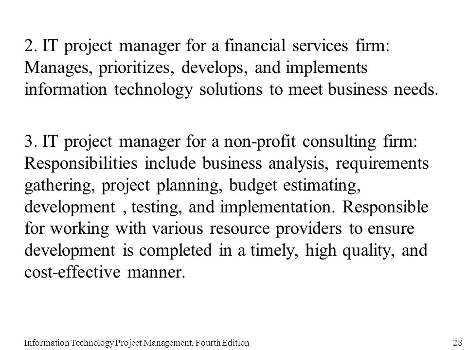 business implementation manager