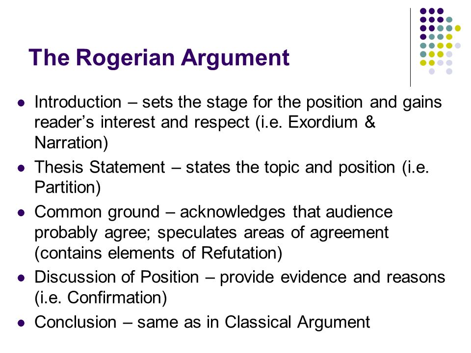 rogerian argument essay global warming