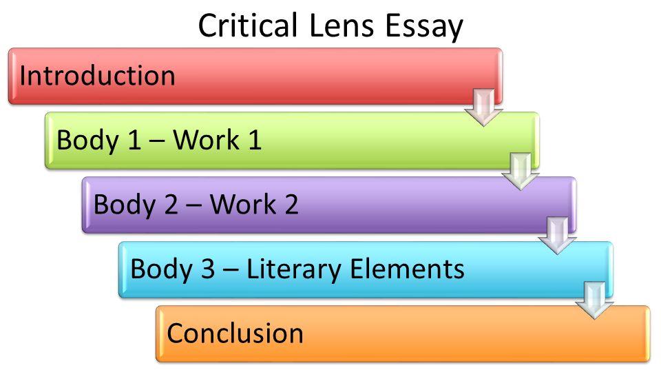 write critical lens essay 2 books