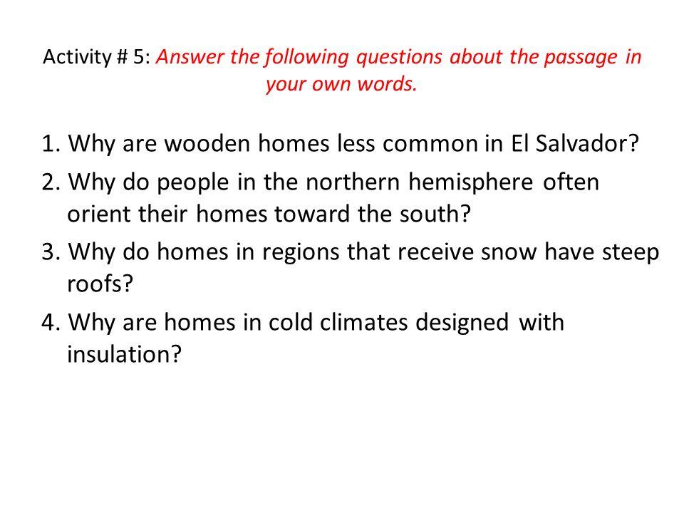 activity 5 answer