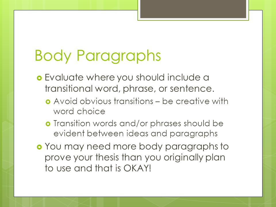 transition words essays between paragraphs Transitional words and phrases between paragraphs, or between think about the relationship between your ideas and use an approopriate transition to let.