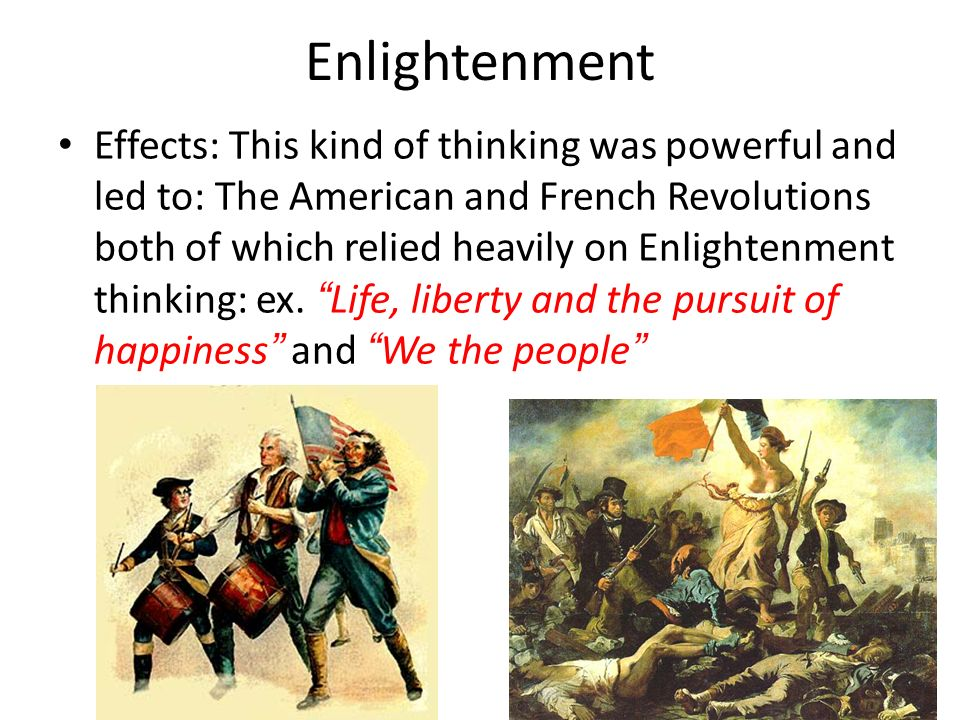 THE ENLIGHTENMENT. Essential Question: Why is the Enlightenment ...