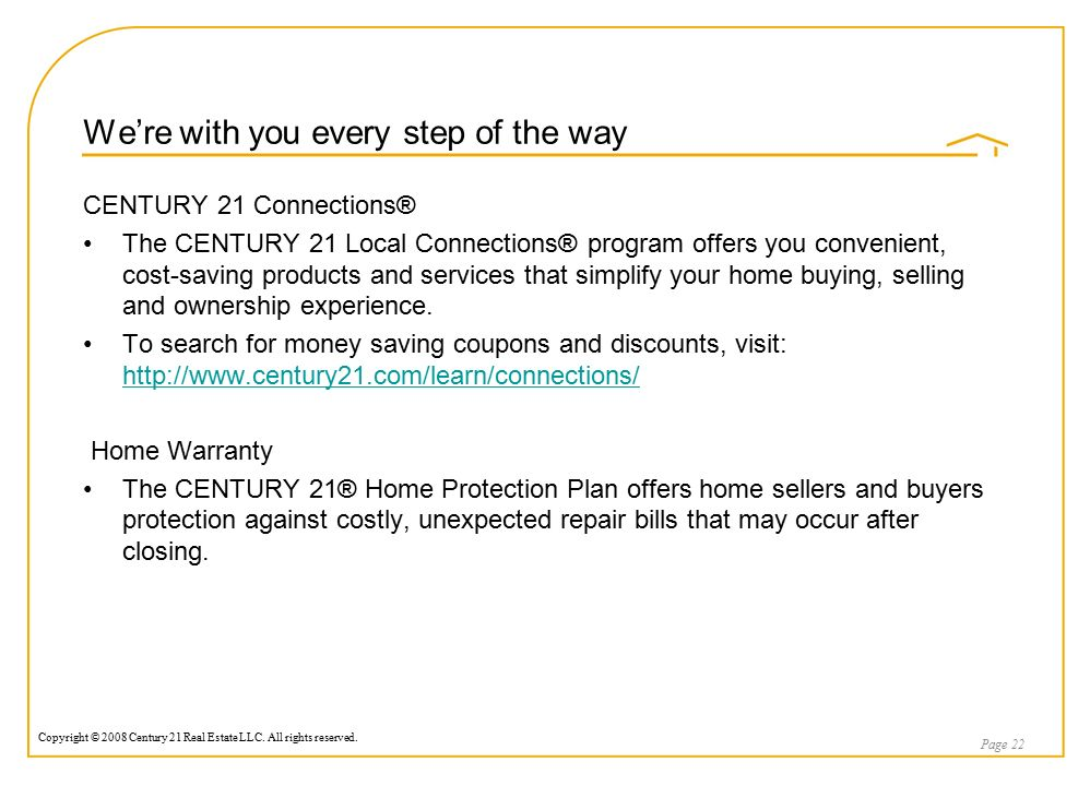 Home Protection Plan Cost a real estate services marketing proposal presented by: dan dekker