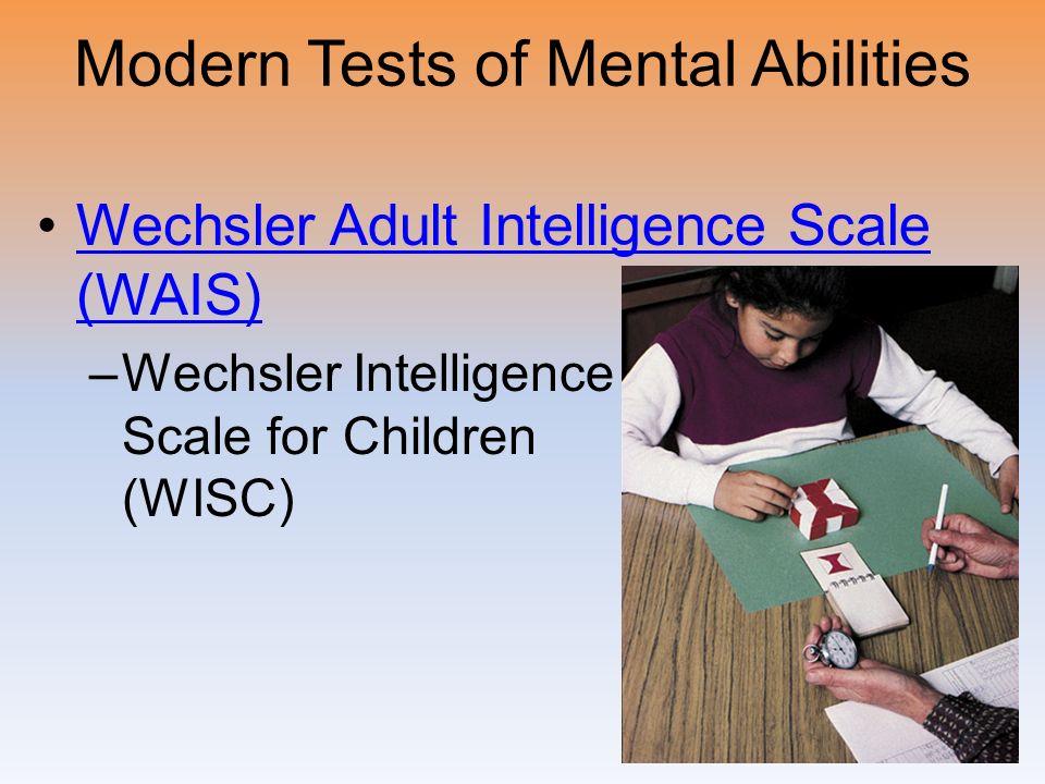 wechsler intelligence scale for children