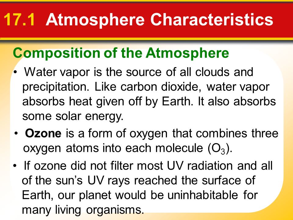 17 Chapter 17 The Atmosphere: Structure and Temperature. - ppt ...