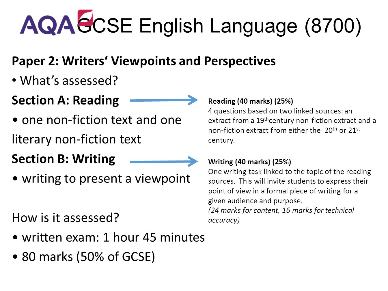 a guide to writting gcse coursework and getting top marks