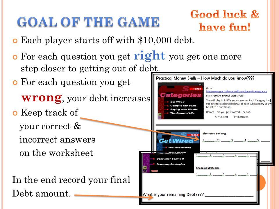 T HURSDAY M ARCH 15 2012 Practical Money Skills How Much do – Practical Money Skills Worksheets