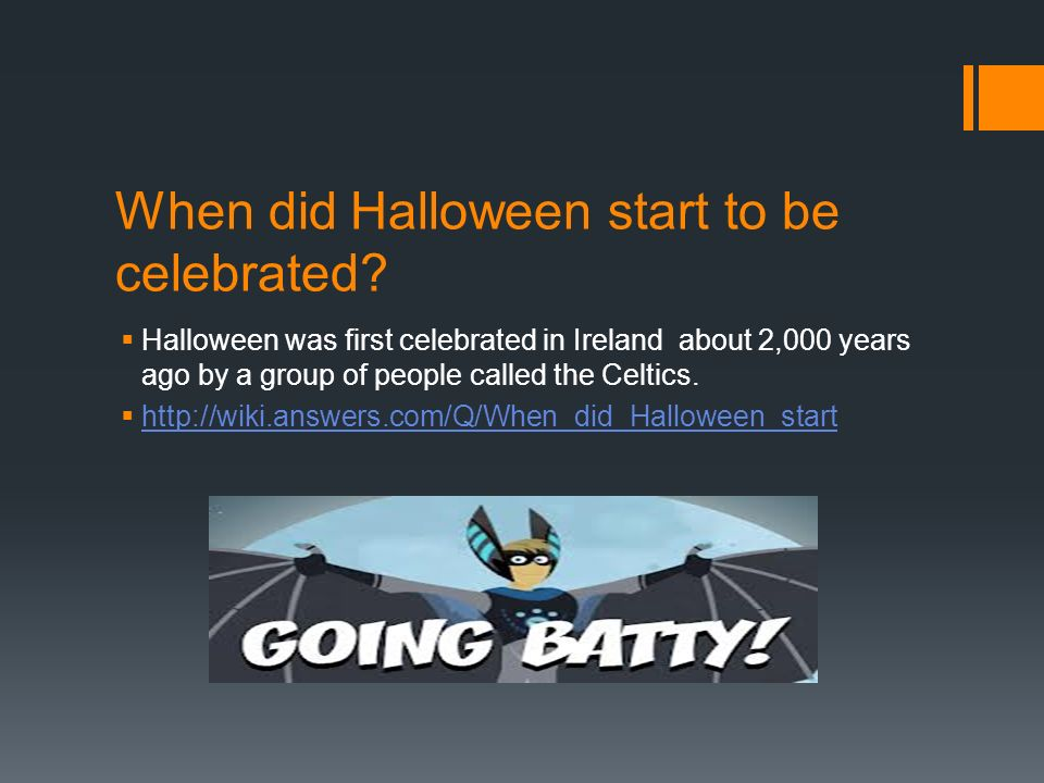 The History of Halloween  By Kristopher  Multimedia Design ...