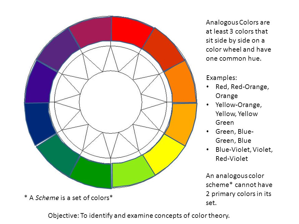 7 Analogous Colors Are At Least 3