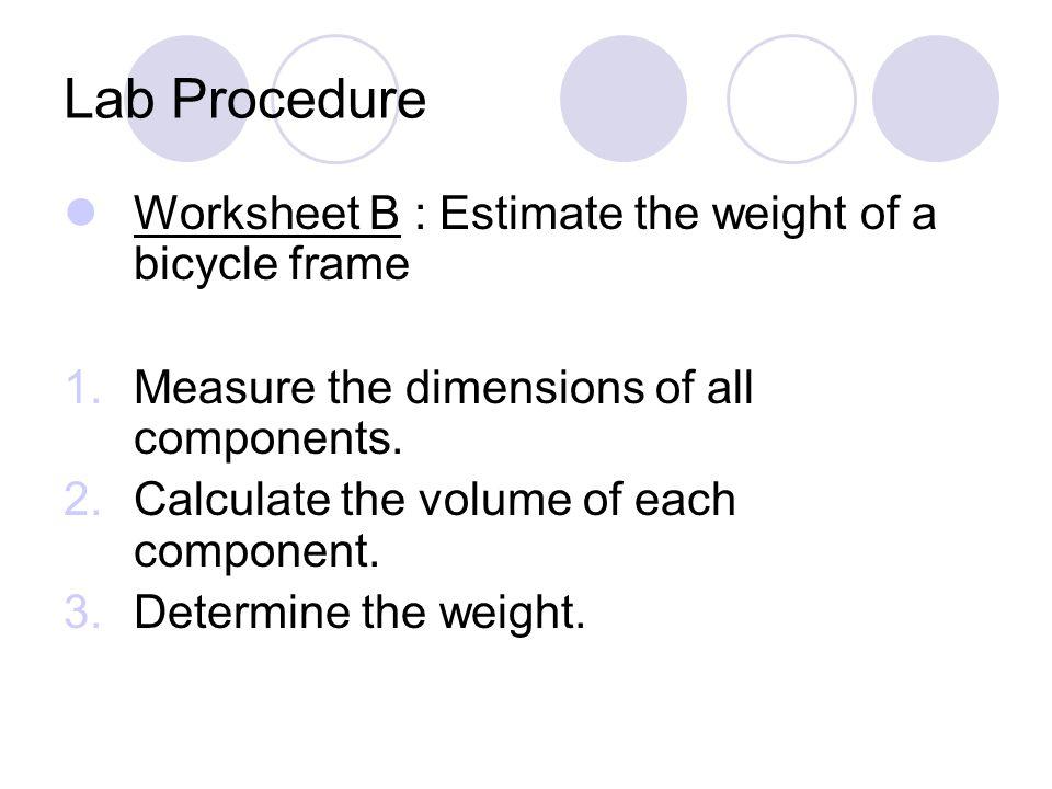 intro to lab procedure